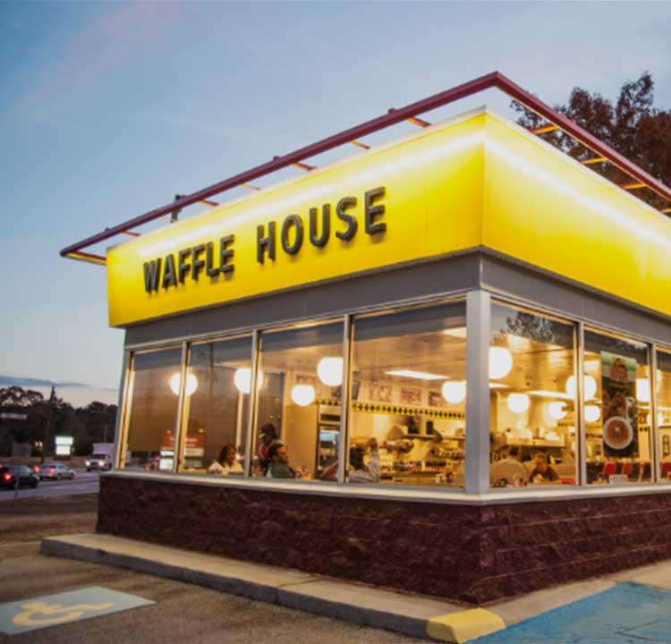 Friendly Waffle House Employee