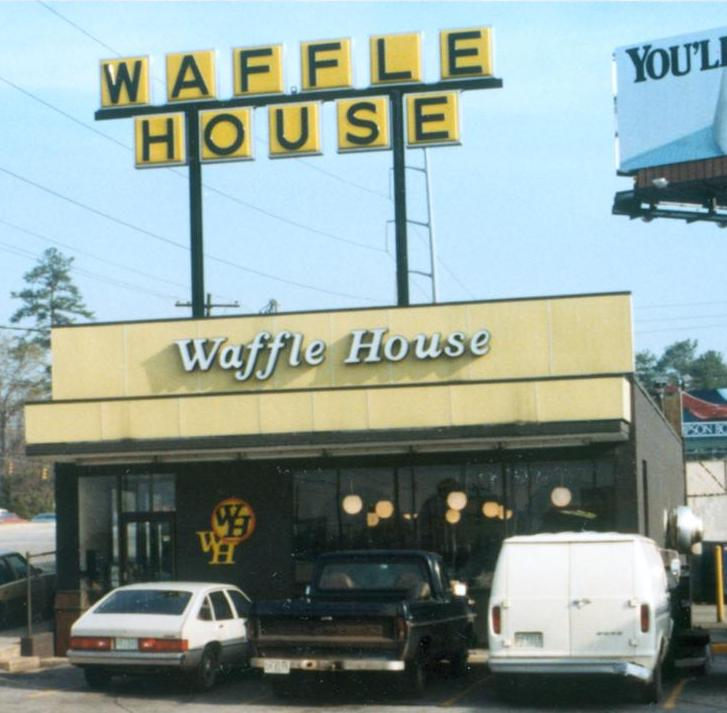 Vintage Waffle House sign