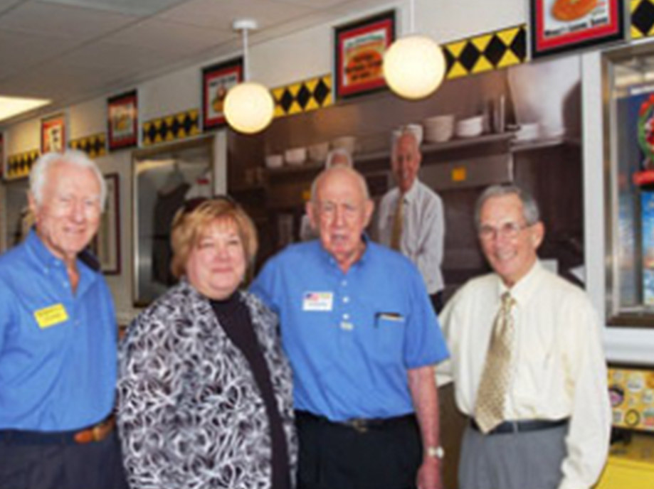 Joe Rogers Sr and Tom Forkner and others